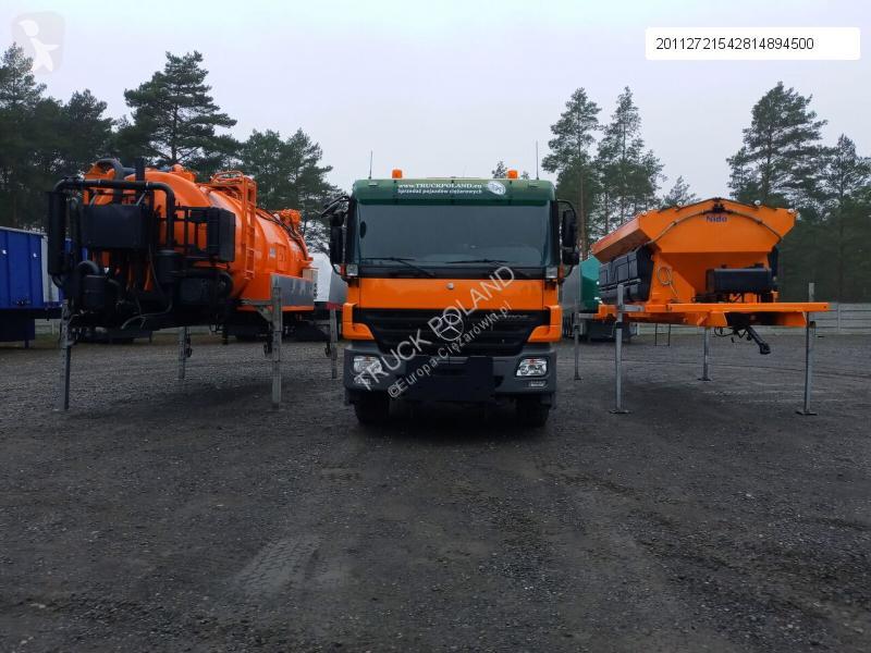 Vedere le foto Veicolo per la pulizia delle strade nc MERCEDES-BENZ ACTROS 2636 6x4 WUKO + MUT SAND MACHINE FOR CHANNEL CLEANING