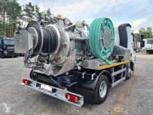 Maquinaria vial camión limpia fosas DAF LF45 WUKO SCK DO CZYSZCZENIA KANAŁÓW PRZEBIEG 18000 km !!