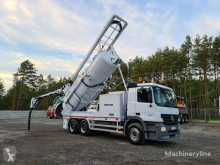 MERCEDES-BENZ ACTROS 6x4 MULLER MÜLLER WUKO for collecting liquid waste from s gebrauchter Druck- und Saugwagen