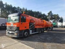 MERCEDES-BENZ Actros 2531 Kroll + przyczepa asenizacyjna z małym bębnem wysoko camion autospurgo usato