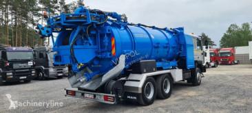 Maquinaria vial MAN 26.414 WUKO ELEPHANT 6x4 camión limpia fosas usado