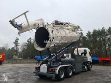 Scania Vacuum Naaktgeboren Saugbagger Vacu-press 8000 Hi-Lift sucking b camión limpia fosas usado