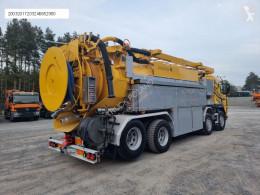 Volvo FM WUKO ADR LARSEN FlexLine 414 do zbierania odpadów płynnych camión limpia fosas usado
