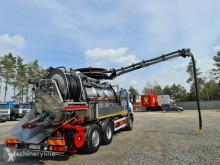 Maquinaria vial Scania CAPPELLOTTO CAPCOMBI 2600 VACUUM CLEANER Kanal Saug Druck camión limpia fosas usado