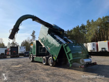 Camião basculante para recolha de lixo Scania DISAB Saugbagger vacuum cleaner excavator suction powders