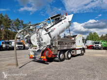 Camion hydrocureur Iveco CAPPELLOTTO CAP JET 2600 WUKO RECYCLING for collecting liquid wa