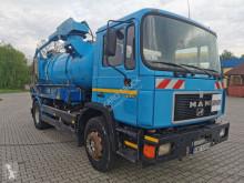 Camion hydrocureur MAN 18.232 ,Full Steel, Manual Pumpe