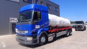 Maquinaria vial camión limpia fosas Renault Premium 420