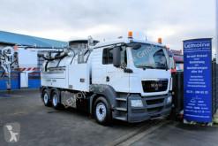 Maquinaria vial camión limpia fosas MAN TGS 28.440 6x2 Wiedemann 12m³ Super 1000 WRG