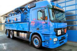 Maquinaria vial camión limpia fosas Mercedes 2546 MP2 6x2 Wiedemann 15,5m³ Saug u. Spül +ADR