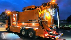 Maquinaria vial camión limpia fosas Mercedes Actros Actros 2548 6x2 Müller 13,5m³ Helikopter WRG