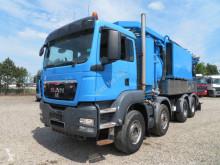 Lastbil med højtryksspuler MAN TGS 35.480 8x4 Simon Moos Genbrugssuler