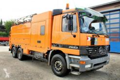 Maquinaria vial camión limpia fosas Mercedes Actros Actros 2653 6x4 V8 Müller 16m³ Saug u.Spül-Kombi