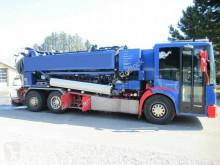 Maquinaria vial Mercedes 2633 6x2, 3 Kamern + Stempel, ca. 12 cbm camión limpia fosas usado