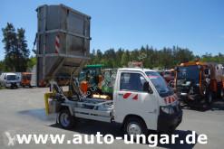 Piaggio Porter Maxxi D120 Müllwagen Kamm Schüttung Presse Alubehälter 4m used waste collection truck