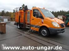 Mercedes Sprinter 513 Sprinter Presse Schüttung 5m³ Contex Hydrobox camión volquete para residuos domésticos usado