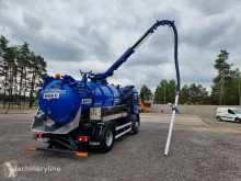 Camion hydrocureur DAF LF 55.220 WUKO SW-6D for collecting liquid waste from separators