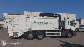 Scania waste collection truck P310 + HIAB 210w-3 + GEESINK GPMIII 18L25 KT2