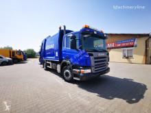 Scania P230 garbage truck Euro V camión volquete para residuos domésticos usado