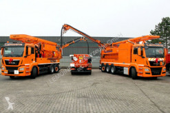 MAN Saug u.Druck-Kombispüler Wasserrückgewinner ADR camion hydrocureur occasion