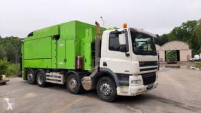 Vehículo de limpieza viaria vehículos especiales DAF CF Aspiratrice excavatrice DAF Euro 5