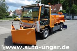 Maquinaria vial camión quitanieves Multicar Boki HY 1251 Allrad 4x4 Winterdienst Schild Streuer