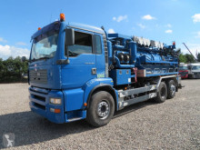 Camion hydrocureur MAN TGA 26.360 6x2*4 Jurop VJC8 Stainless Steel