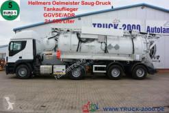 آلة لصيانة الطرق Iveco Stralis Stralis AD 420 +Hellmers Kanal Saug-Druck-Spüler شاحنة ضخّ مائي مستعمل