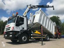 آلة لصيانة الطرق Iveco STRALIS AD190 Palfinger PK 14002 Crane Kipper شاحنة قلابة للنفايات المنزلية مستعمل