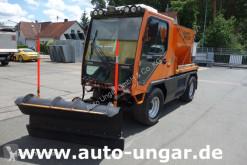 Multicar Ladog G129 4x4x4 Allrad Kipper Winterdienst Schild Streuer gebrauchter Salzstreu- und Schneefahrzeug