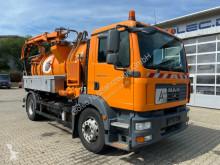 آلة لصيانة الطرق MAN TGM 18.280 4x2 Kanalreiniger LEISTIKOW 8.300 L شاحنة ضخّ مائي مستعمل