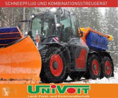 Maquinaria vial camión quitanieves con salero SYN TRAC Winterdienst Geräteträger Kommunal Schneepflug