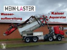 Scania R420 R 420 8x4 Kaiser Aquastar V2A Recyling ADR camion autospurgo usato