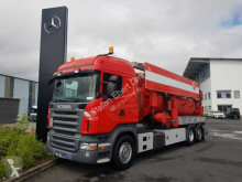 Scania R 340 LB 6x2 Kutschke 12.700L/Vacustar W 1300 L camión limpia fosas usado