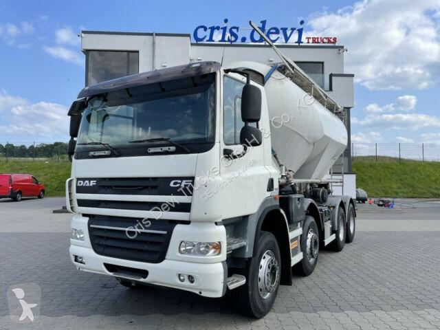 Voir les photos Engin de voirie DAF  CF 85 460 8x4 Zement Silo, Euro 5