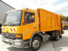Camion benne à ordures ménagères Mercedes ATEGO1323-FAUN AUFBAU-CITY-ORG KM TOP