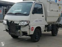 Piaggio damaged waste collection truck