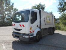 Renault Midlum 220.12 camion benne à ordures ménagères occasion