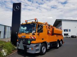 Mercedes Actros Actros 2531 L 6x2 Müller Liftmaster right hand camión limpia fosas usado