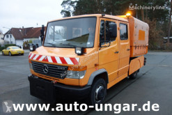 Camion-freză de împrăştiat zăpada Mercedes Vario 614 D Vario DOKA 7-Sitze KIPPER Kommunal Winterdienst (2022)