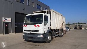 Maquinaria vial Renault Premium 260 camión volquete para residuos domésticos usado