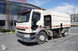 Maquinaria vial camión barredora Renault