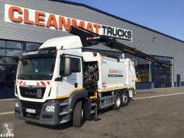 MAN TGS 26.360 camion benne à ordures ménagères occasion