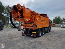 Camión limpia fosas MERCEDES-BENZ 3244 Wiedemann Super 3000 z recyklingiem WUKO do zbierania odpad