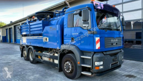 MAN TGA TGA 26.430 6x4-2 Wiedemann 14,5m³ Kipper V2A used sewer cleaner truck