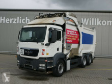 MAN TGS 26.360 6x2-2 BL*HN-Schörling*Lift/Lenk*Kli camión volquete para residuos domésticos usado