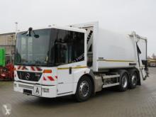 Mercedes Econic 2633 6x2 Müllwagen Faun+Zoeller Schüttung camión volquete para residuos domésticos usado