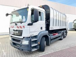 MAN TGS 26.320 6x2-4 BL 26.320 6x2-4 BL, Retarder, Lenkachse, FAUN Rotopress 521 camion de colectare a deşeurilor menajere second-hand