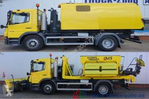 Mercedes 1518 Winterdienst +Streuer +Schild +Kehrmaschine camion cu echipament de măturat străzi second-hand