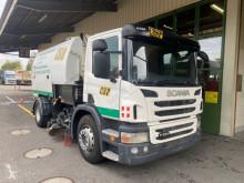 آلة لصيانة الطرق Scania p280 شاحنة مكنسة مستعمل